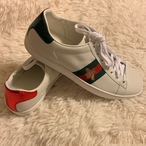 Gucci New Ace Sneaker Size 40!!!